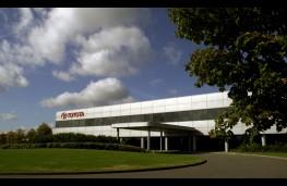 Toyota factory, Burnaston, Derby