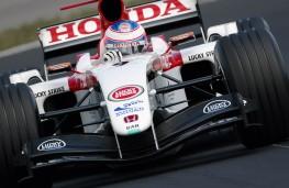 BAR Honda driven by Jenson Button