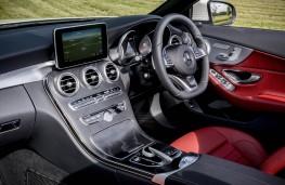 Mercedes C-Class Cabriolet, interior