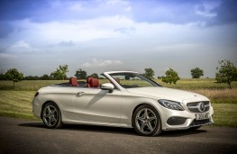 Mercedes C-Class Cabriolet, side