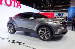 Toyota C-HR crossover, concept