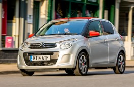 Citroen C1 Airscape, front, action
