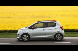 Citroen C1 Airscape, side, action