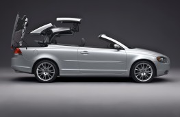 Volvo C70, roof retraction 2