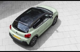 Citroen C3, 2017, 67-plate, glass roof