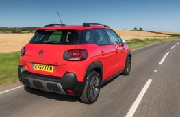 Citroen C3 Aircross, rear