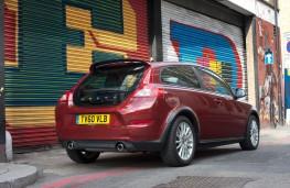 Volvo C30, rear