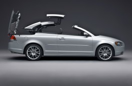 Volvo C70, roof retraction 3