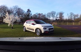 Citroen C3, 2017, viewed from ConnectedCAM
