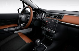 Citroen C3 Aircross, 2017, dashboard