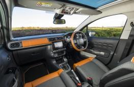 Citroen C3, 2017, interior, brown