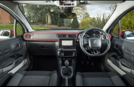 Citroen C3, 2017, interior, red