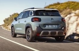 Citroen C3 Aircross, 2021, rear