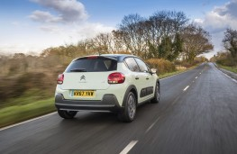 Citroen C3, 2017, 67-plate, rear, action