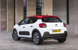 Citroen C3, 2017, rear, static