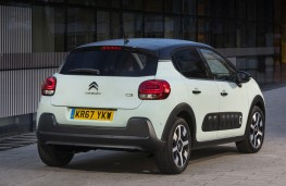 Citroen C3, 2017, 67-plate, rear, static