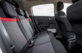Citroen C3, 2017, rear seats