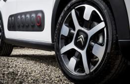 Citroen C3, 2017, wheel