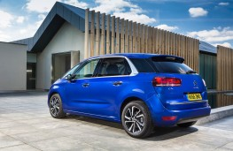 Citroen C4 Picasso, rear