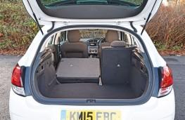 Citroen C4, 2015, boot