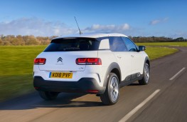 Citroen C4 Cactus, rear, action