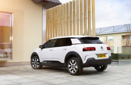Citroen C4 Cactus, rear, static