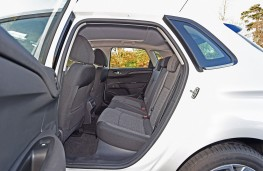 Citroen C4, 2015, rear seats