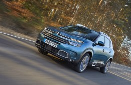Citroen C5 Aircross, 2019, front, action