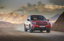 Citroen C5 Aircross, 2018, front, action