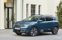 Citroen C5 Aircross, 2019, front, static