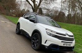 Citroen C5 Aircross Shine Plus Plug-in Hybrid, 2021, front, upright