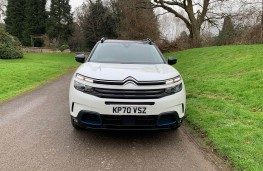 Citroen C5 Aircross Shine Plus Plug-in Hybrid, 2021, nose