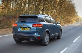Citroen C5 Aircross, 2019, rear, action