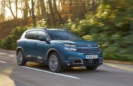 Citroen C5 Aircross, 2019, side, action