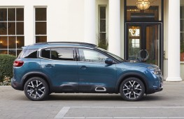 Citroen C5 Aircross, 2019, side, static