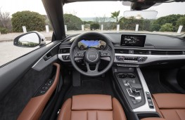 Audi A5 Cabriolet, 2017, interior
