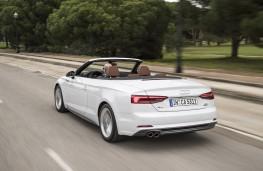 Audi A5 Cabriolet, 2017, rear, action