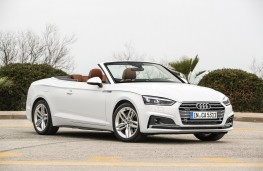 Audi A5 Cabriolet, 2017, side