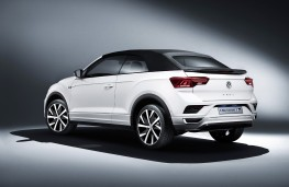 Volkswagen T-Roc Cabriolet, 2019, rear, roof up