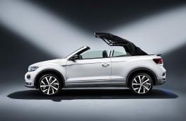 Volkswagen T-Roc Cabriolet, 2020, roof, folding