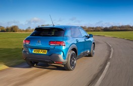 Citroen C4 Cactus, 2018, rear, action