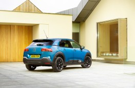 Citroen C4 Cactus, 2018, rear, static