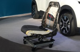 Citroen C4 Cactus, 2018, advanced comfort seat construction