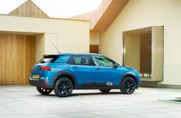 Citroen C4 Cactus, 2018, side, static
