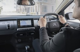 Citroen C4 Catcus, 2018, driving position