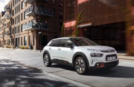 Citroen C4 Cactus, 2018, side