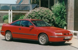 Vauxhall Calibra, side