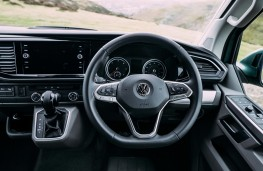 Volkswagen California, 2020, dashboard