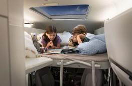 Volkswagen Grand California, 2018, bunk beds