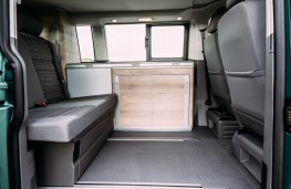 Volkswagen California, 2020, seats